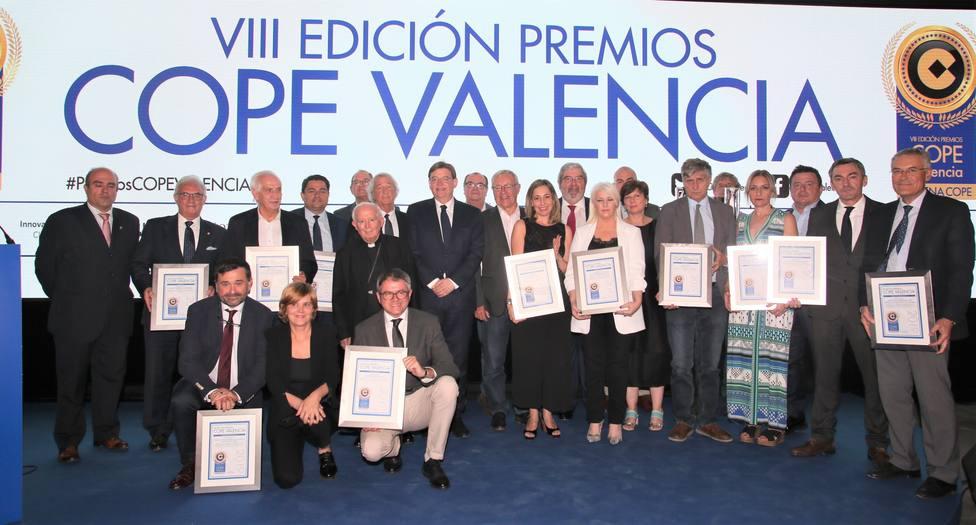 Premiados premios cope