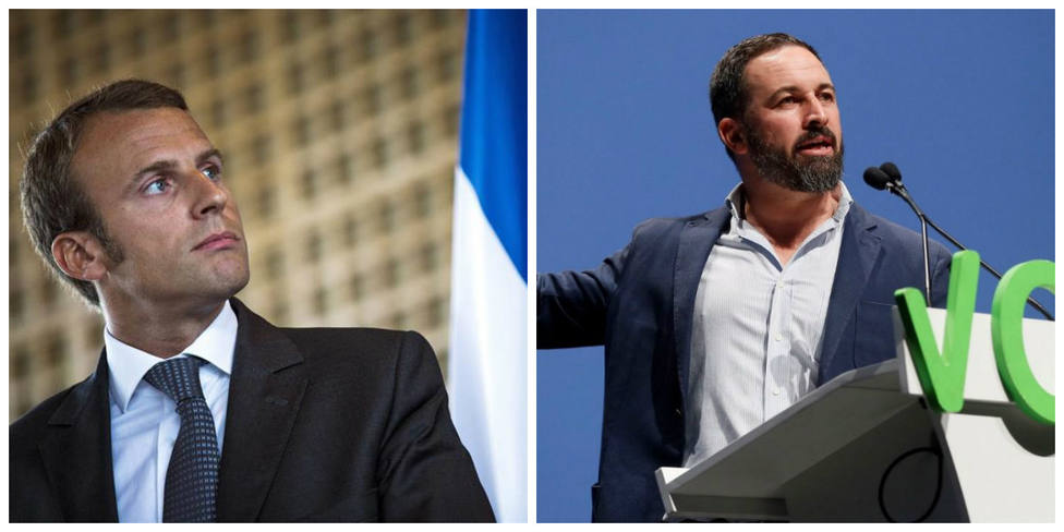 Abascal se harta de Macron y le lanza este ultimátum