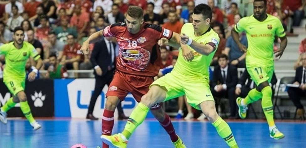 (Crónica) ElPozo Murcia remonta en los penaltis y se adelanta en la final ante el Barça Lassa