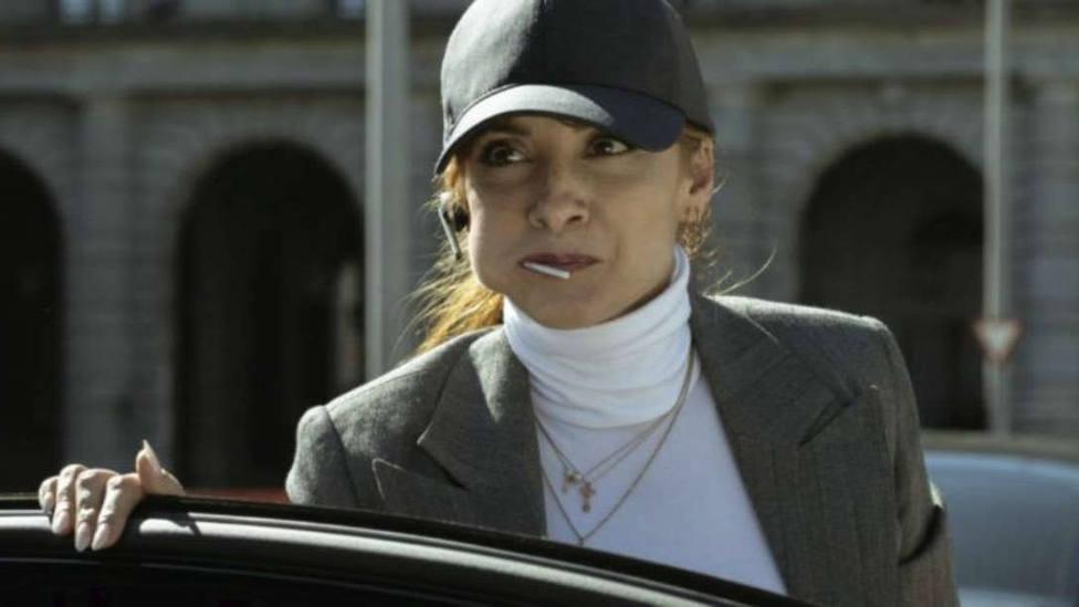 La divertida reacción de Najwa Nimri a una admiradora de La casa de papel 3: Te corto el cuello