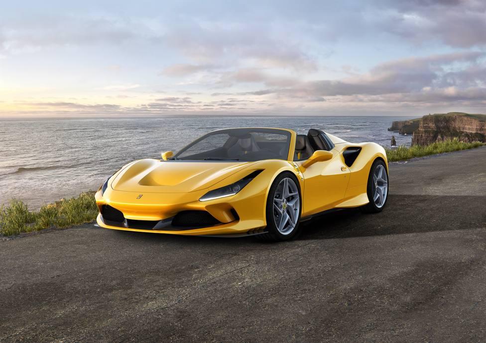 Ferrari lanza el F8 Spider, que reemplaza al 488 Spider