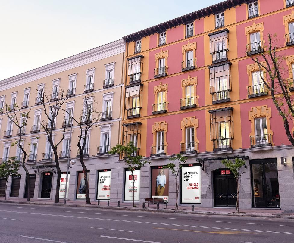 Uniqlo reta a Inditex con la apertura de su primera tienda en Madrid este jueves en plena milla de oro