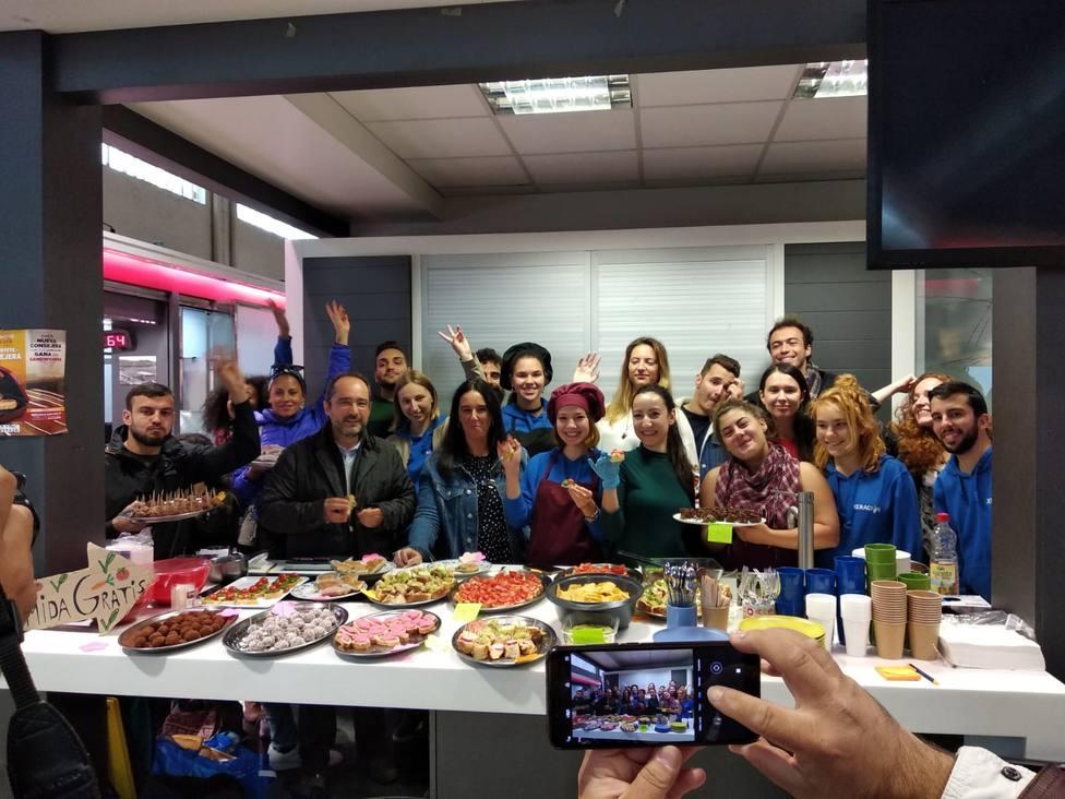 Hubo alumnos procedentes de Italia, Bulgaria,Turquía, Holanda y España