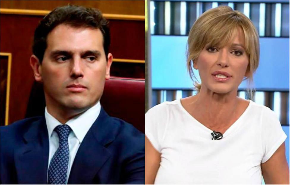 """Encontronazo entre Rivera y Susanna Griso en pleno directo: """"¡No te enfades conmigo Albert!"""""""