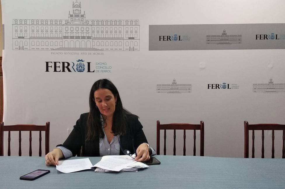 Eva Martínez es la responsable del departamento de Bienestar Social de Ferrol