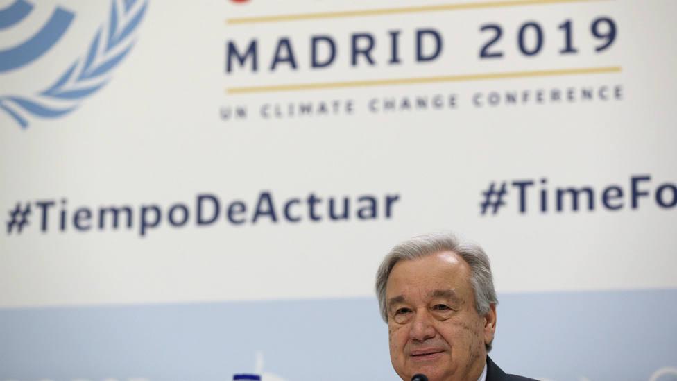 Antonio Guterres, secretario general de Naciones Unidas