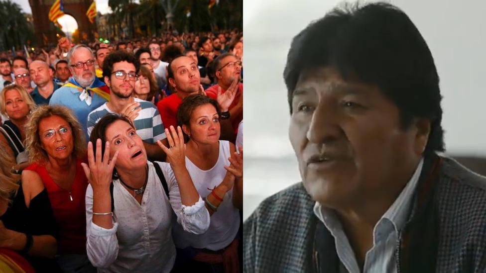 La pregunta de TV3 a Evo Morales sobre la independencia que preferirían no haberle hecho
