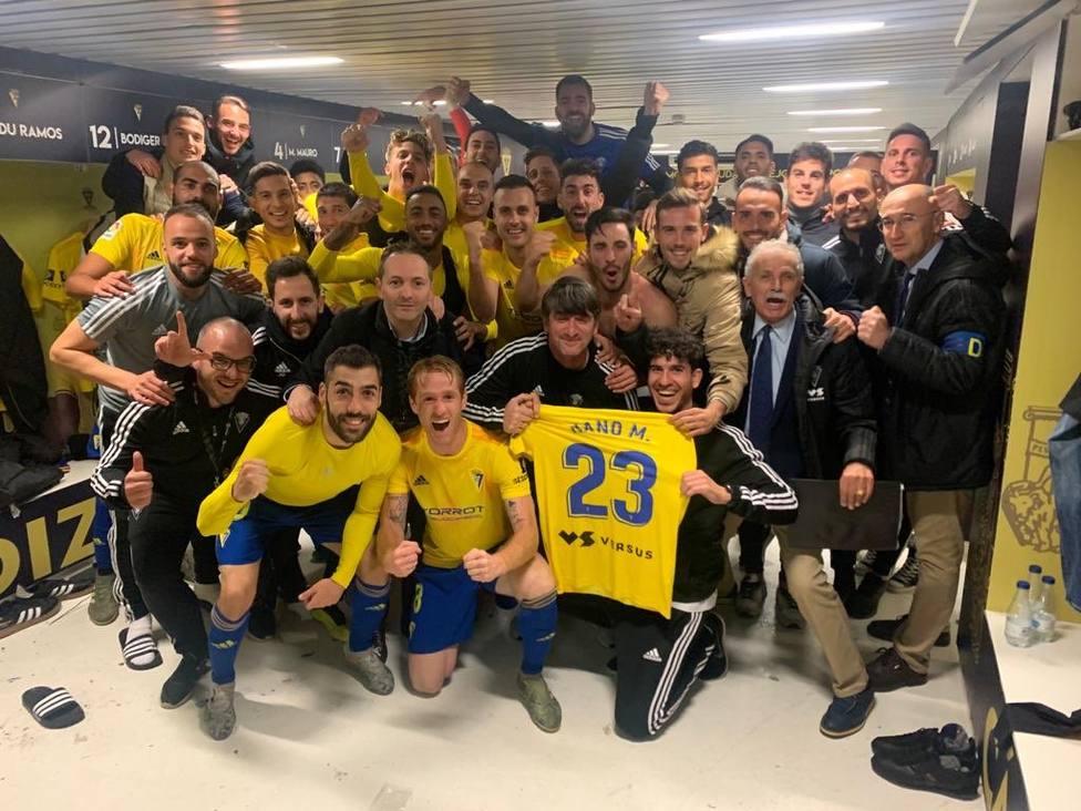 Jugadores del Cádiz