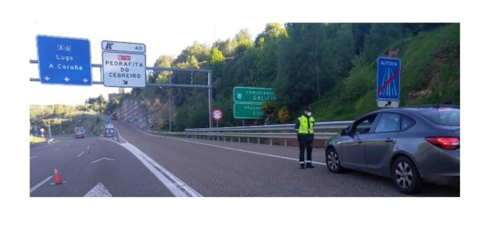 Guardia Civil y Policía Autonómica se coordinan para vigilar el límite de Lugo y León