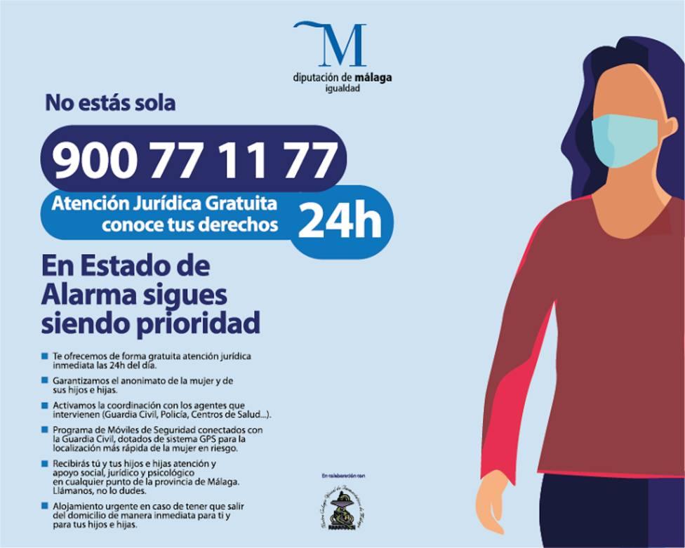 Medio millar de mujeres víctimas de violencia de género han recibido ayuda.