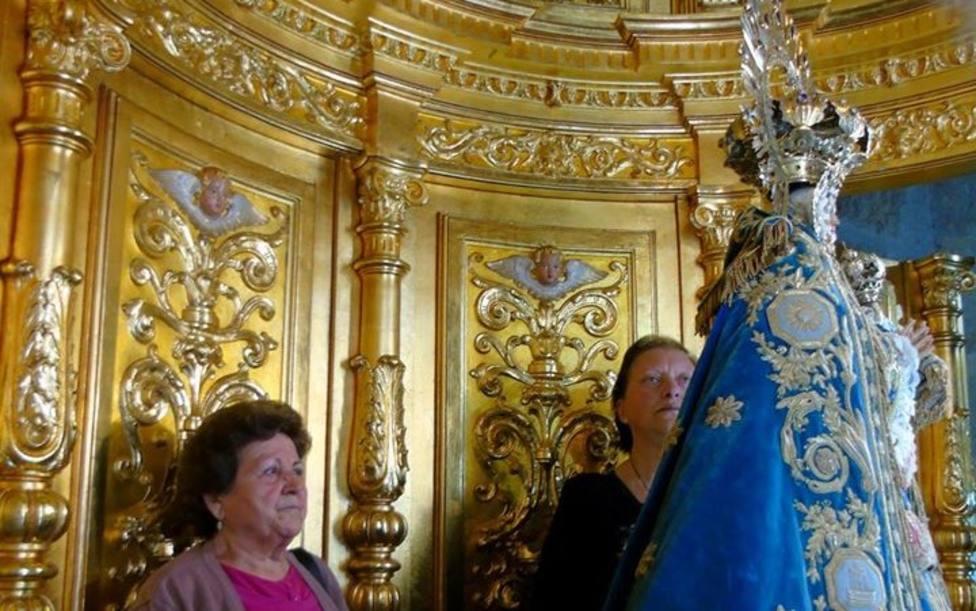 No se podrá subir al Camarín de la Virgen de los Llanos en la Catedral. FOTO Ángel Alfaro
