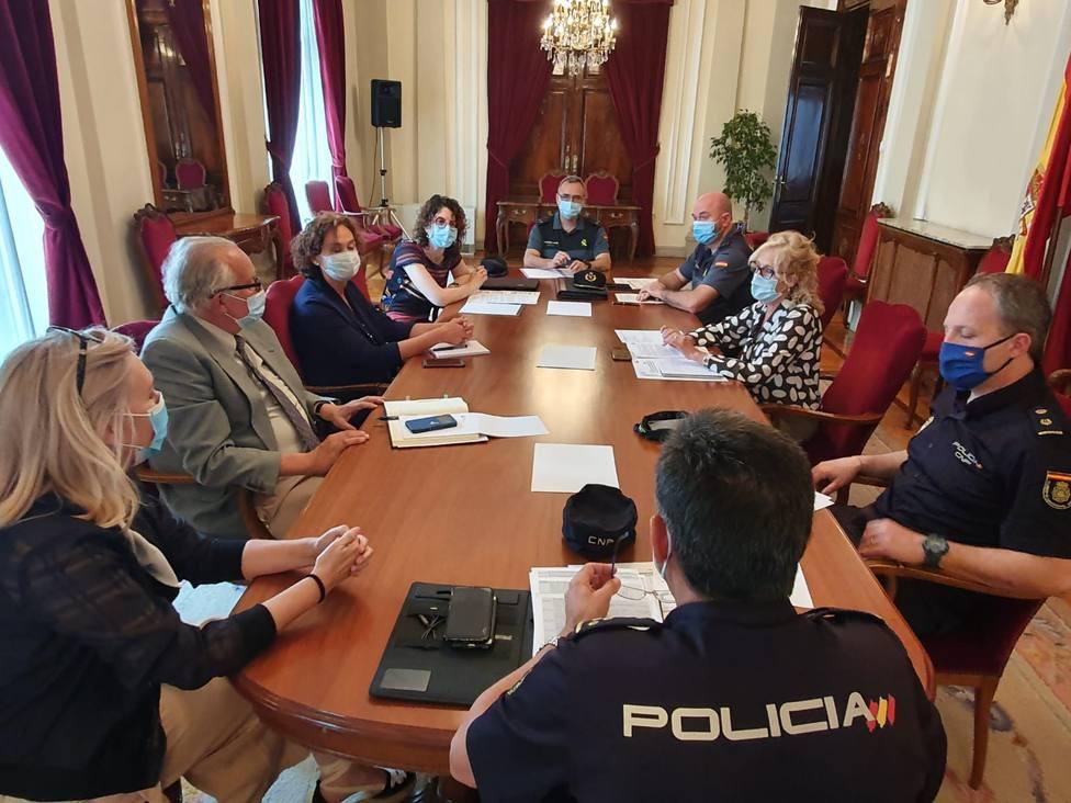 Reunión del Plan para la Convivencia y Seguridad Escolar