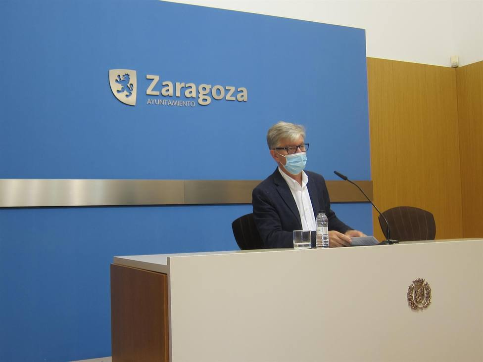 Pedro Santisteve. Ayuntamiento. Zaragoza en Común. ZeC
