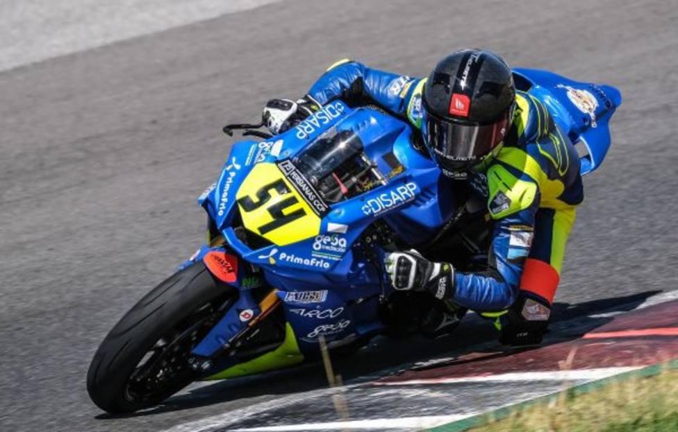 Fermín Aldeguer buscar dejar visto para sentencia el Campeonato de Europa de STK600 en MotorLand