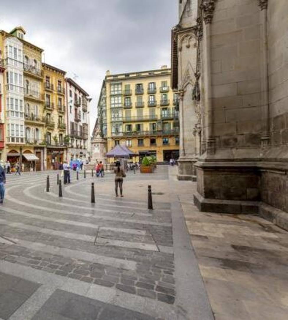 calles peatonales en Bilbao