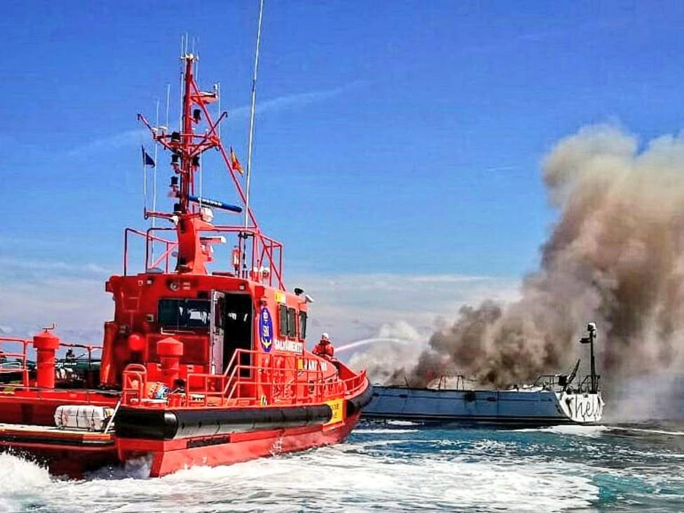 Salvamento Marítimo rescata a 108 inmigrantes al sur de Gran Canaria