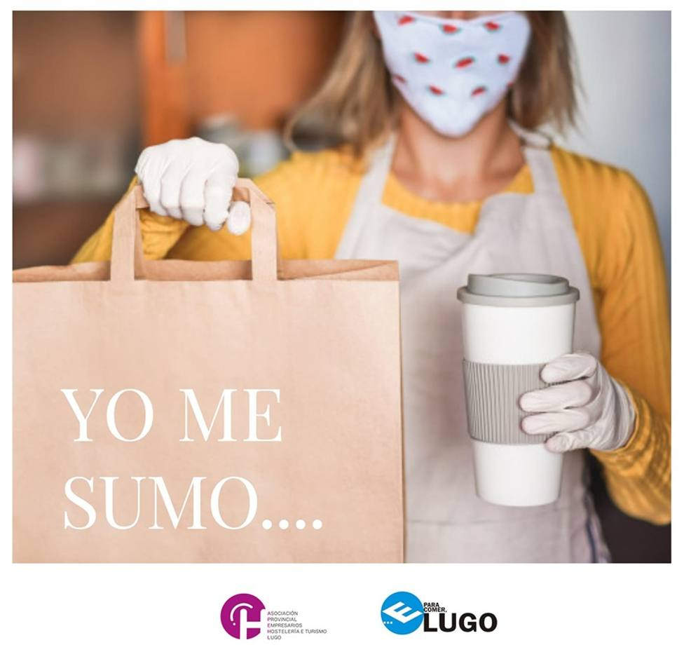 Los hosteleros de Lugo inician una campaña para dar visibilidad en redes a la fidelidad de sus clientes