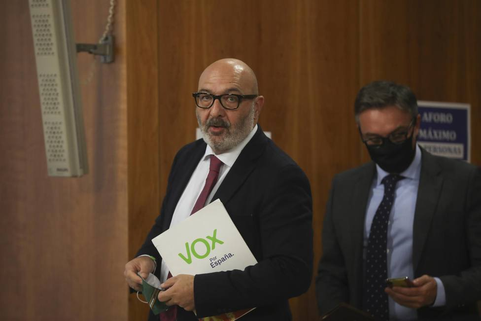 Vox anuncia un acuerdo con la Junta de Andalucía para apoyar el Presupuesto andaluz de 2021