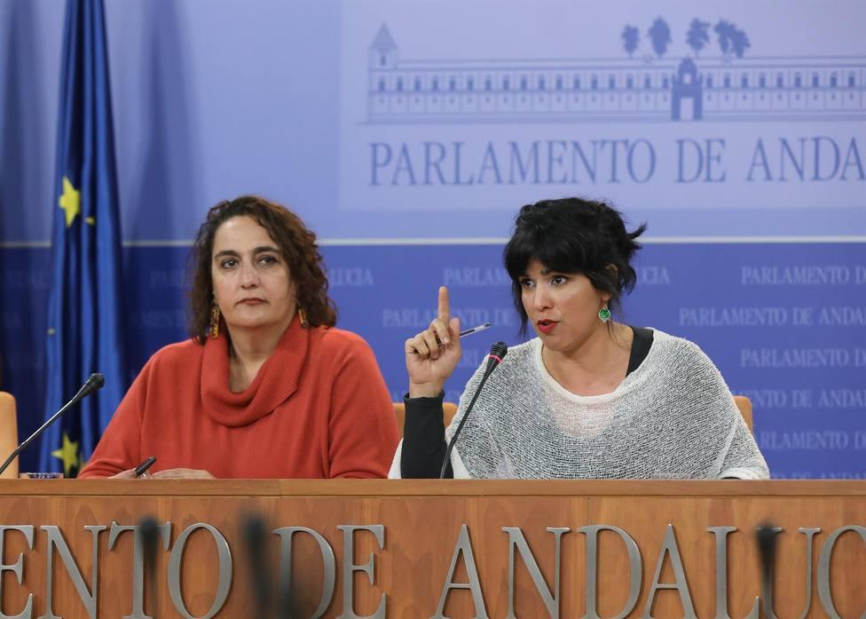 El Parlamento de Andalucía ratifica la expulsión de Teresa Rodríguez