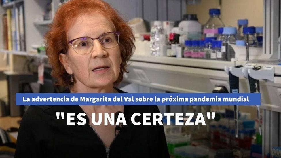 La advertencia de Margarita del Val sobre la próxima pandemia tras la derrota del coronavirus