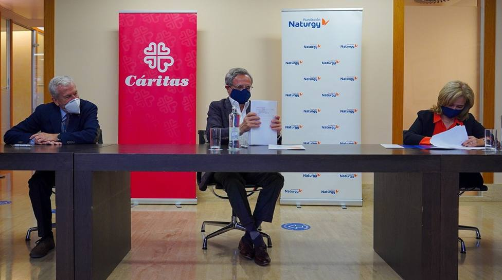 Fundación Naturgy renueva su colaboración con Cáritas para el acceso a la energía de familias vulnerables