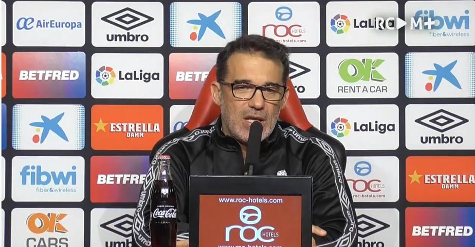 Luis García, en rueda de prensa previa al encuentro contra el Leganés | Imagen: RCD Mallorca