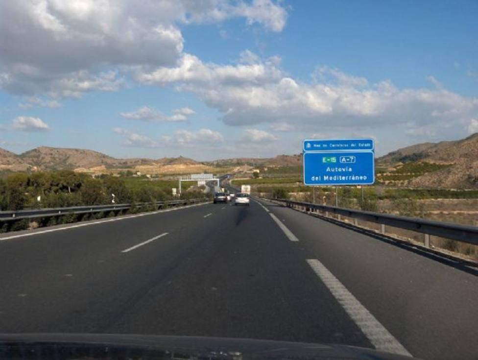 El PP solicita la ampliación del proyecto del tercer carril de la autovía A7 hasta Puerto Lumbreras