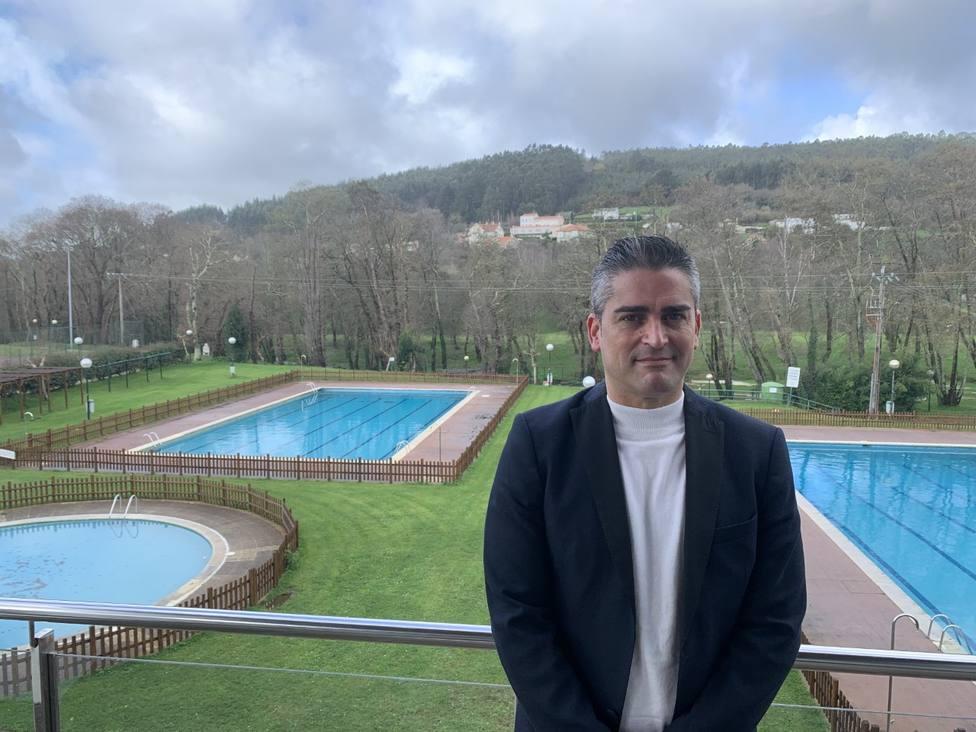 David Sanmartin en las instalaciones del Club de Campo - FOTO: Cedida