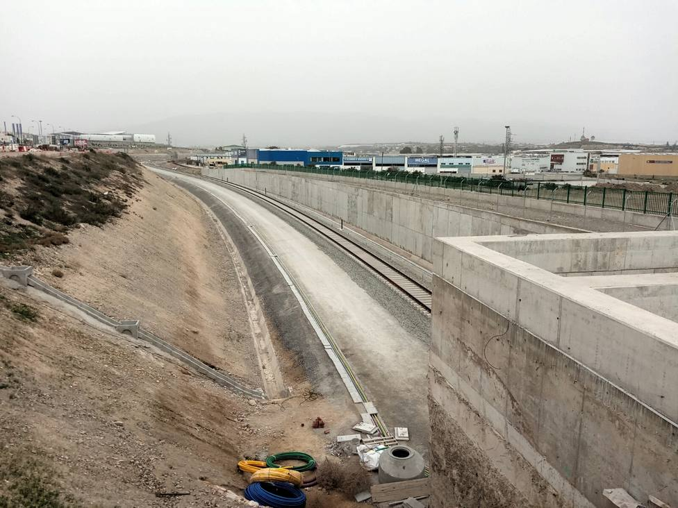 Las obras del Puche y Río Andarax están a punto de finalizar para volver a conectar la capital almeriense