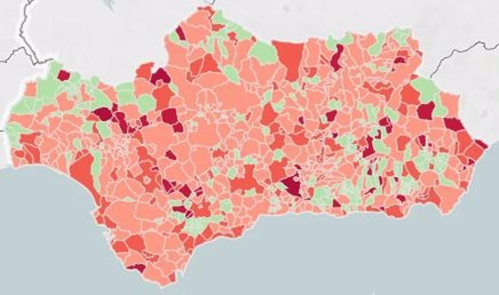 567 municipios andaluces, incluidas 6 capitales, amplían aforos en comercio y hostelería al pasar a nivel 3