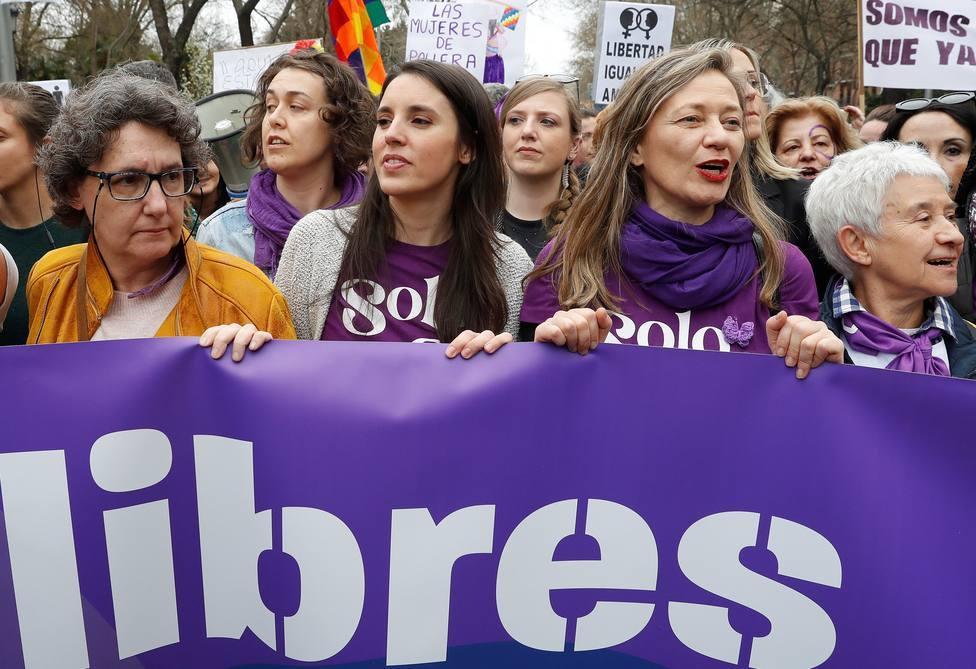 El Constitucional mantiene la prohibición de las manifestaciones del 8-M en Madrid