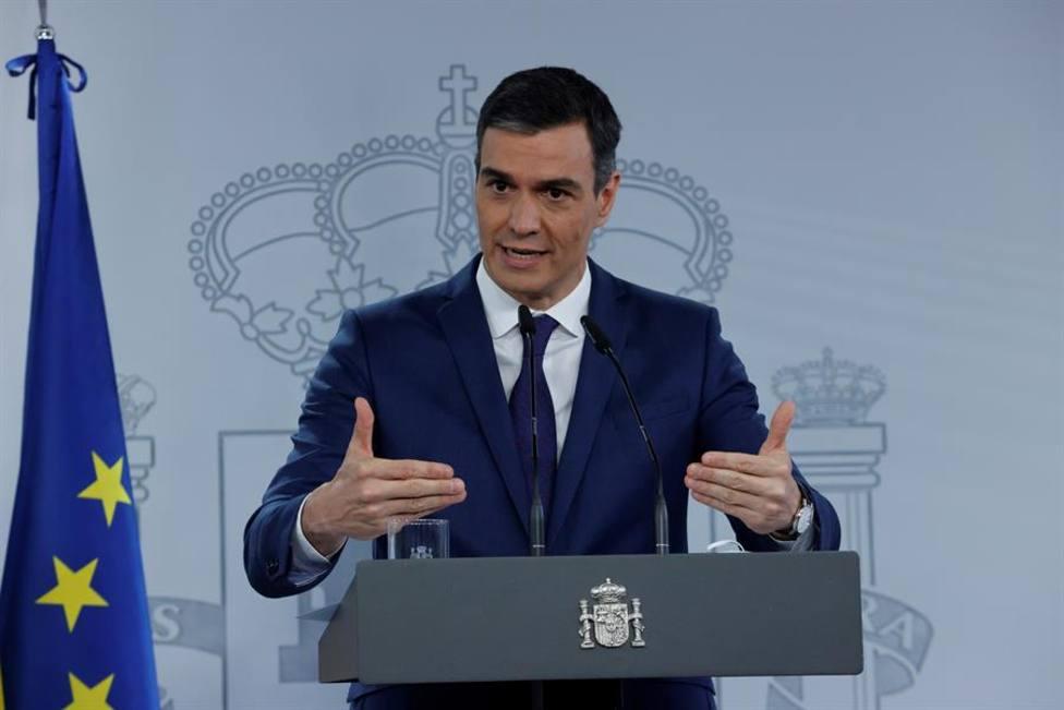 Pedro Sánchez quiere que el estado de alarma termine el 9 de mayo