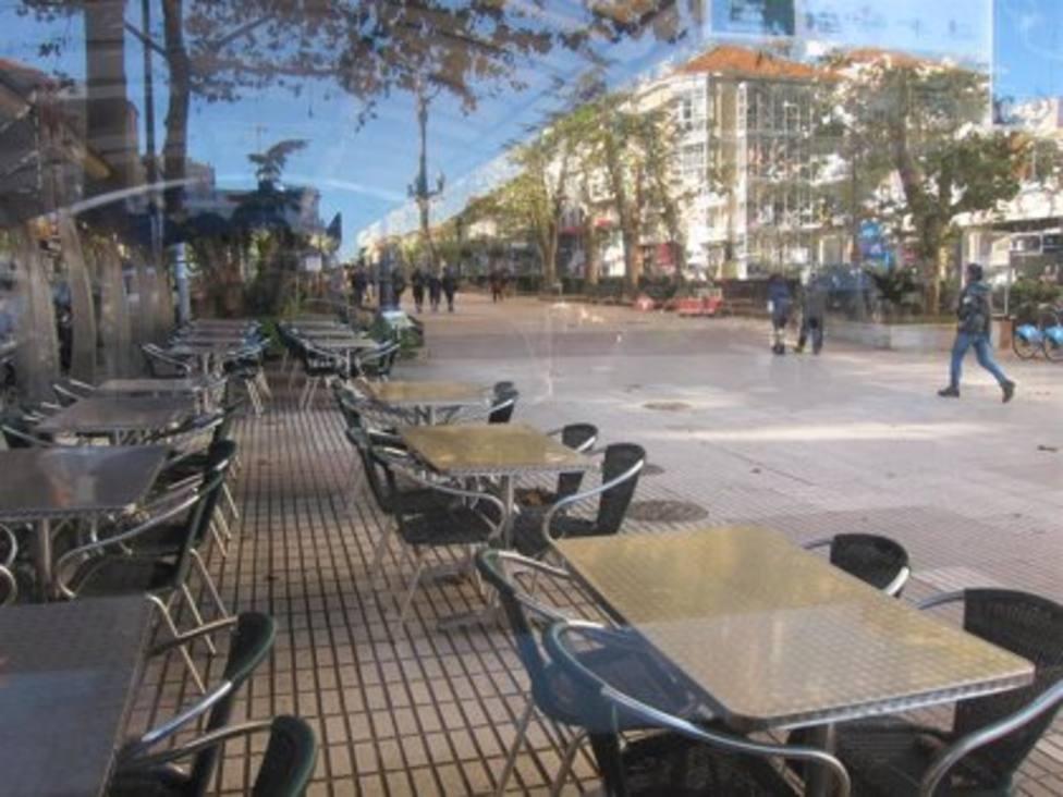 Los locales de hostelería seguirán con el interior cerrado