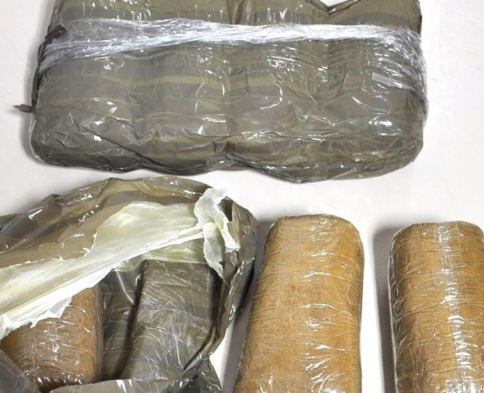 Paquetes de hachís (foto recurso)