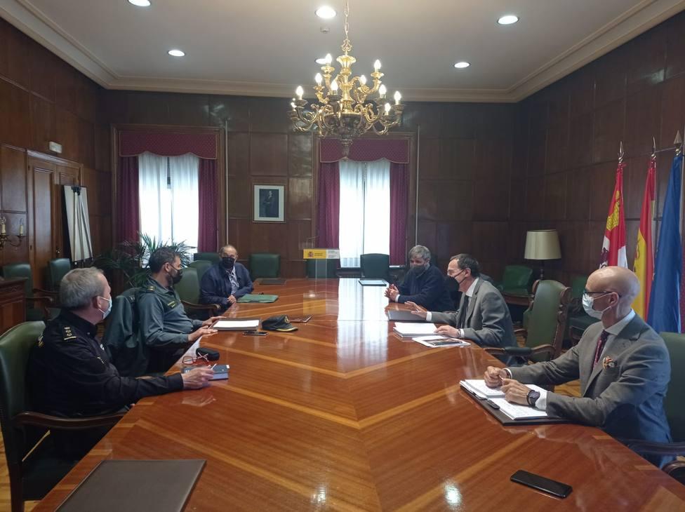 Reunión Presidente de la Concha