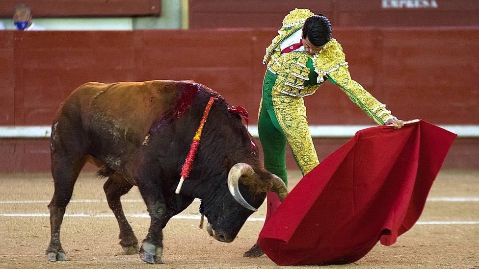 Natural de Emilio de Justo durante su actuación este domingo en Leganés