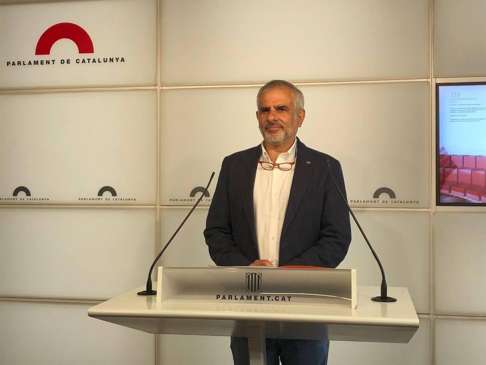 El líder de Cs en Catalunya, Carlos Carrizosa - Europa PRess
