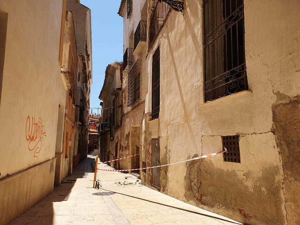 El episodio de lluvias torrenciales deja pocas incidencias en Lorca