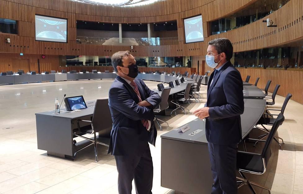 La Comunidad defiende en Europa la importancia de medios técnicos y financiación para combatir el cambio climático