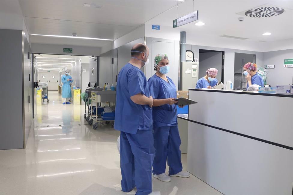Los pacientes no Covid empiezan a llegar al Hospital de Emergencias
