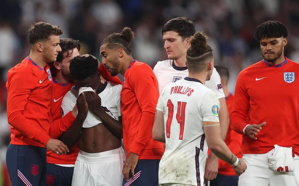 Sucesión de condenas a los insultos racistas en la final de la Eurocopa
