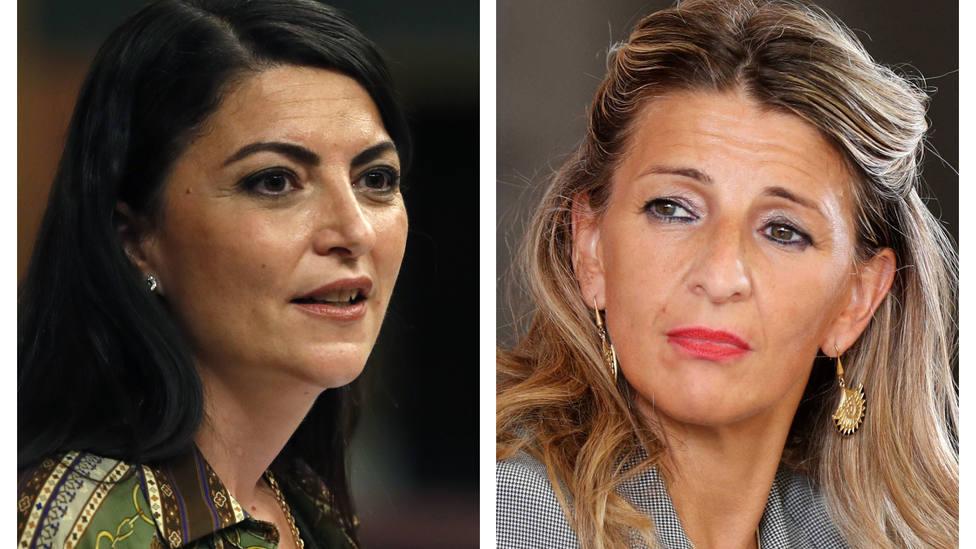 Macarena Olona no se corta al hablar del cambio físico de Yolanda Díaz