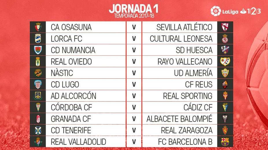 Calendario Liga Segunda.Ya Se Conoce El Calendario Del Campeonato Nacional De Liga De