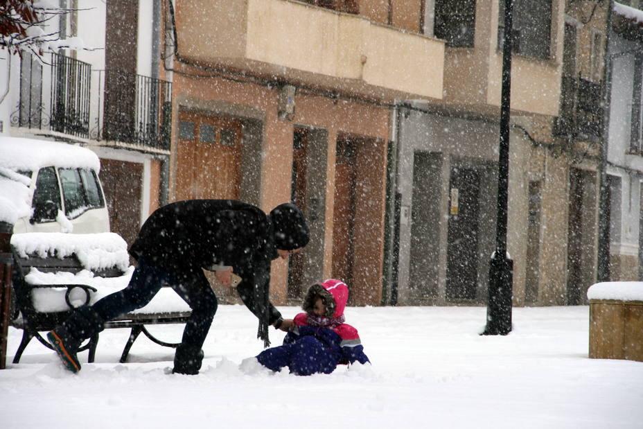 Nieve en Vilafranca