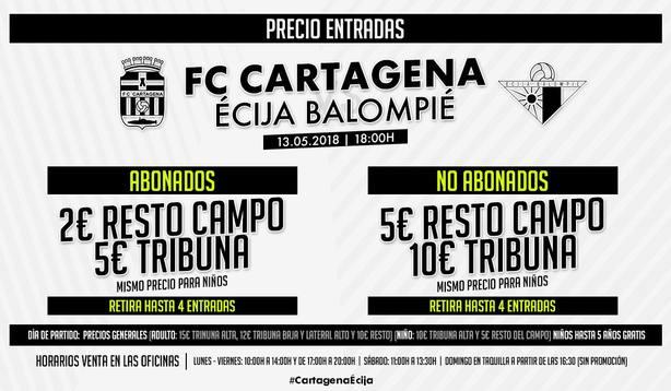 El Cartagena prepara la última final antes del playoff