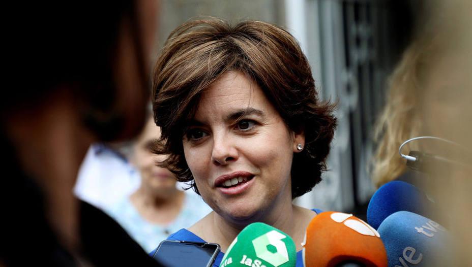 Sáenz de Santamaría, el último baluarte de la era Rajoy