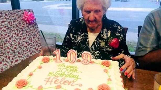 Helen Self celebra su 109º cumpleaños en el Montana Club de Missoula (EE UU)Ver más en: https://www.20minutos.