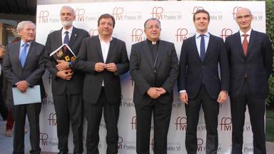 """Pablo Casado: """"Egoístamente, a España le viene muy bien la Iglesia"""""""