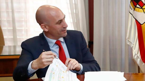 Luis Rubiales, presidente de la RFEF (FOTO: RFEF)