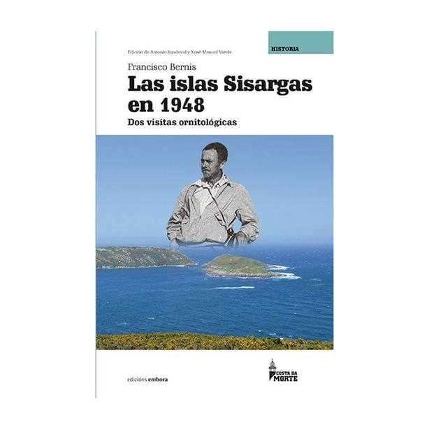 Portada del libro que ha sido editado por la editorial Embora, de Ferrol